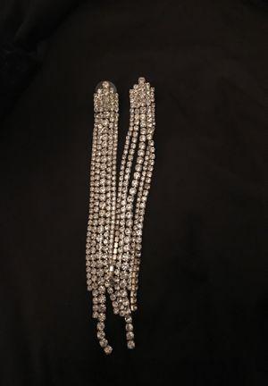 Drop diamond earrings for Sale in St. Louis, MO