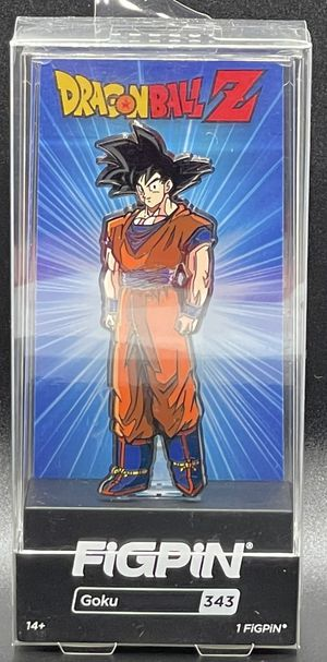 FiGPiN Dragonball Z #343 Goku (Unopened) for Sale in Houston, TX
