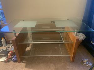 Glass table for Sale in Vienna, VA