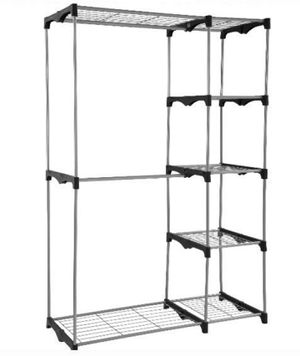 Closet Shelf Organizer For Wire Shelves Sturdy Easy To Assemble For Clothes Towels Shoes Toiletries Handbags Baby Rack for Sale in Henderson, NV