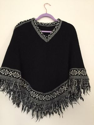 Thick knit shawl for Sale in Lakewood, OH