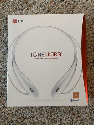 LG Tone Ultra Bluetooth Headset for Sale in Quincy, IL