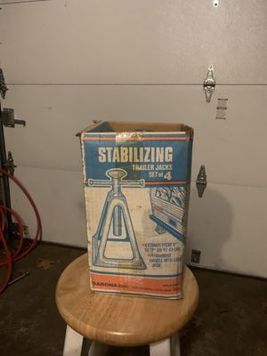 Stabilizing trailer jacks for Sale in CT, US