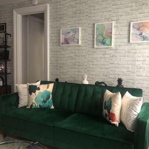 Emerald Green Sleeper Sofa (Mercury Row) for Sale in New York, NY