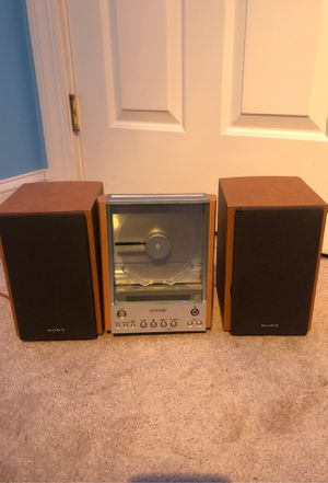 Vintage SONY CD AM/FM Stereo Micro System for Sale in Westwood, MA