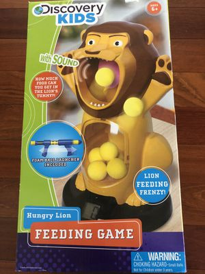 Discovery Kids Hungry Lion Feeding Game for Sale in San Jose, CA