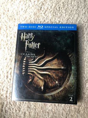 Harry Potter and the chamber of secrets movie for Sale in Charlotte, NC