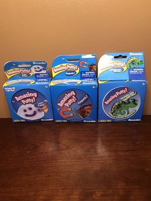 Amazing Magnetic Putty 3 Pack for Sale in Parsonsburg, MD