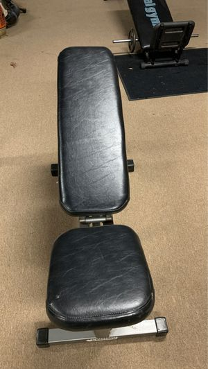 Adjustable Weight Bench. Incline decline almost new. $85.00. for Sale in Fairfax, VA
