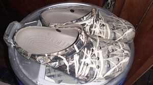 Men's camo crocs size 13 for Sale in Spout Spring, VA