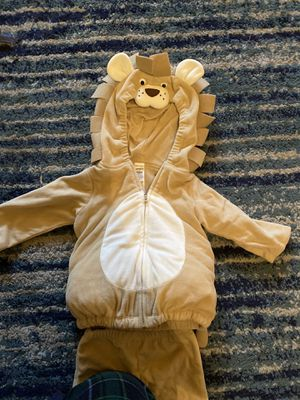 Like new Carters lion Halloween costume - 12m for Sale in Allen, TX