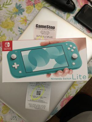 Sealed Nintendo Switch Lite Turquoise Available warranty Receipt Brand New for Sale in Pasadena, CA