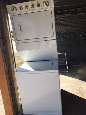 Whirlpool stacked washer, dryer for Sale in Lake Wales, FL