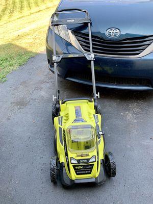Ryobi 40V lithium lawn mower for Sale in Gainesville, VA