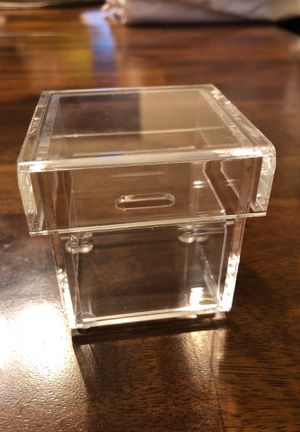 Wedding rings box for Sale in Chicago, IL