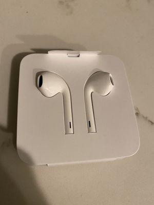 Apple headphones & adapter for Sale in Kerman, CA