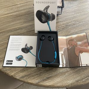 Bose SoundSport Earphones for Sale in Georgetown, TX