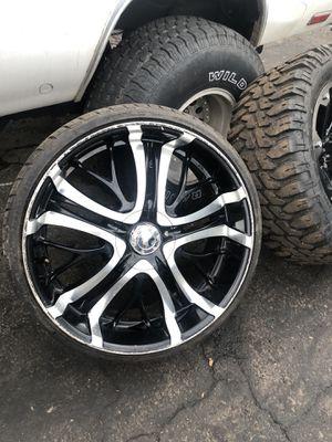 Chevy Blazer Silverado Monte Carlo Camaro 24 inch rim for Sale in Douglasville, GA