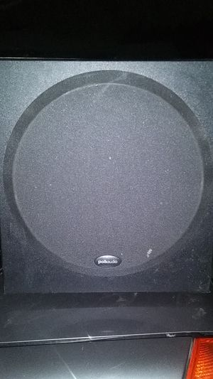 Polk audio 12inch subwoofer with built in amp and auxout for Sale in Antioch, CA