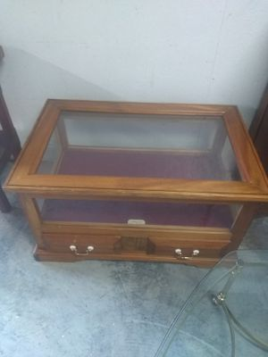 Glass antique show case for Sale in Williamston, NC