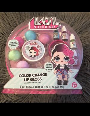 lol surprise dolls Color Change Lip Glos for Sale in Queens, NY