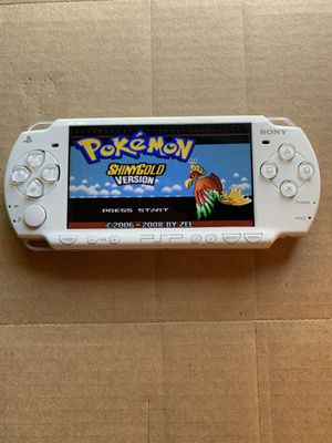 PSP Slim White Hacked With 5,000+ Games And Movies for Sale in Santa Ana, CA