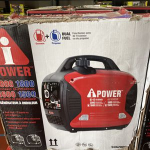 Dual Fuel 2000Watts Inverter Generator (Asking $450) for Sale in La Habra, CA