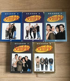 Seinfeld on DVD seasons 3, 5, 6, 7, and 9 for Sale in Dallas, TX