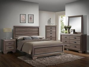 Queen size bedroom set (Gray color) + FREE delivery! for Sale in Federal Way, WA