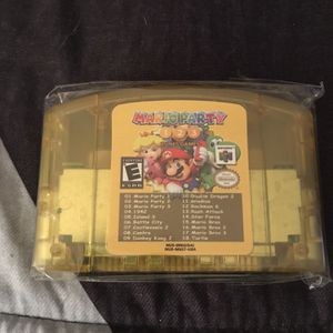 N64 Mario Party 1 2 3 In 1 for Sale in Tulsa, OK