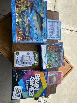 Games and puzzles for Sale in Greenfield, IN