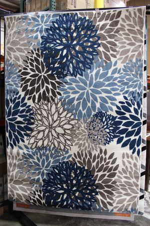 Calithe Vintage Classic Abstract Floral 5x8 Area Rug, SKU # R-1133A-58 for Sale in Downey, CA