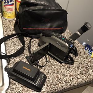 1992 Panasonic VHS Palm Recorder for Sale in Linden, NJ