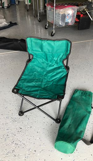Green kids folding sport chair for Sale in Lewis Center, OH