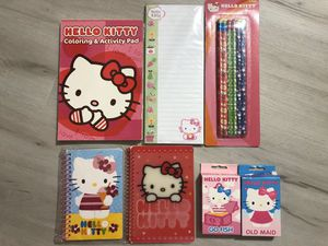 Hello kitty stationary for Sale in Cerritos, CA