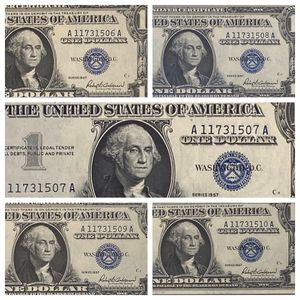 Five Consecutive Uncirculated 1957 Silver Certificates $1 - LOOK! Beautiful! for Sale in St. Charles, IL