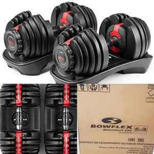 NEW BOWFLEX 552 ADJUSTABLE DUMBBELLS WEIGHTS SET for Sale, used for sale  Brooklyn, NY