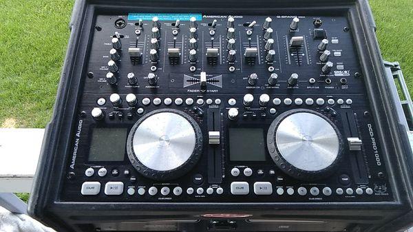 Dj. América audio D C D pro 1000
