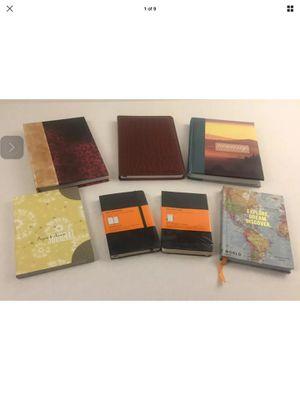 7 Unused journals notebooks diaries memo books inc Moleskine for Sale in Wichita, KS