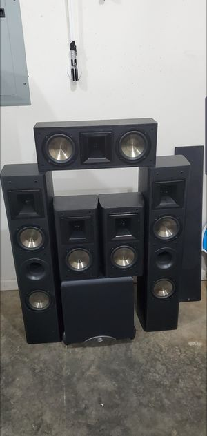 Bic America/Klipsch 5.1 Home theater for Sale in Shelbyville, TN