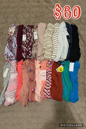 WOMENS JUNIOR CLOTHES BUNDLE🌺NEW🌺SMALL🌺22 PIECES FOR $60 for Sale in Moreno Valley, CA