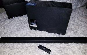 New Samsung soundbar/ subwoofer set for Sale in Hyattsville, MD