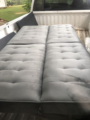 Nice gray microfiber futon for Sale in Old Hickory, TN