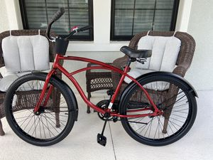 """Cruiser bike 26"""" for riders 5'5"""" to 5'11"""" height, great Huffy bike! Cup holder and bell included. for Sale in Winter Garden, FL"""