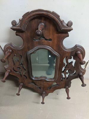 Antique Mirrored Coat and Hat Rack for Sale in Kennewick, WA