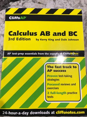 CliffsAP Calculus AB and BC, 3rd Edition for Sale in Fort Washington, MD