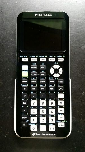Texas instruments TI-84 plus CE graphing calculator for Sale in Norwalk, CA