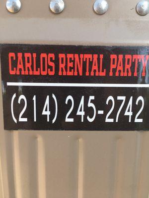 Renta de sillas mesas y carpas for Sale in Irving, TX
