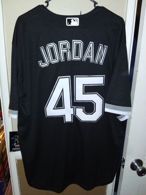 New!!! Mens Large Michael Jordan Chicago White sox Jersey New Stitched. Pick up in West Covina for Sale in West Covina, CA
