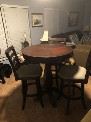 Bar height dining table wood for Sale in Winter Garden, FL